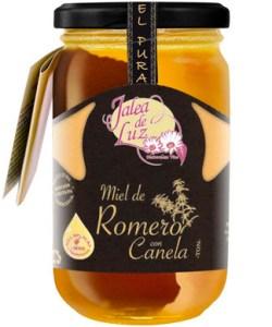 Miel de Romero con Canela 500 gr