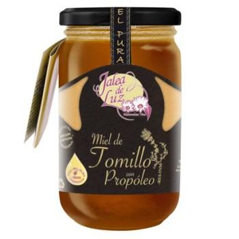 Miel de Tomillo con Propóleo 500 gr