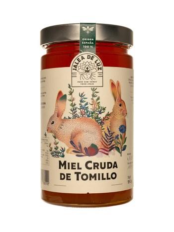 Miel cruda de Tomillo 950 gr