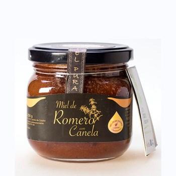 Miel de Romero con canela 250 gr