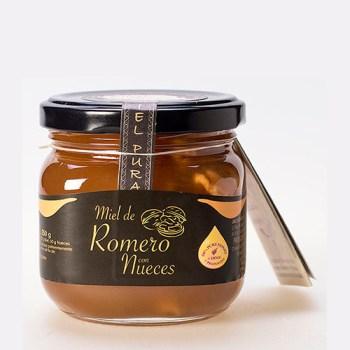Miel de Romero con nueces 250 gr