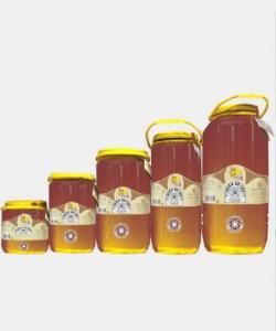 Miel cruda de Ajedrea en garrafa