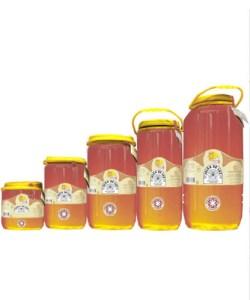 Miel cruda de Eucalipto en garrafa