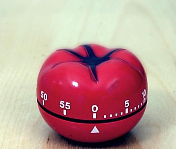 Zeitmanagement: Pomodoromethode
