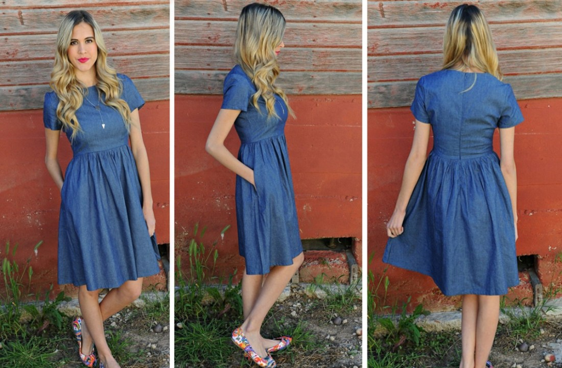 Chambray GD Dress
