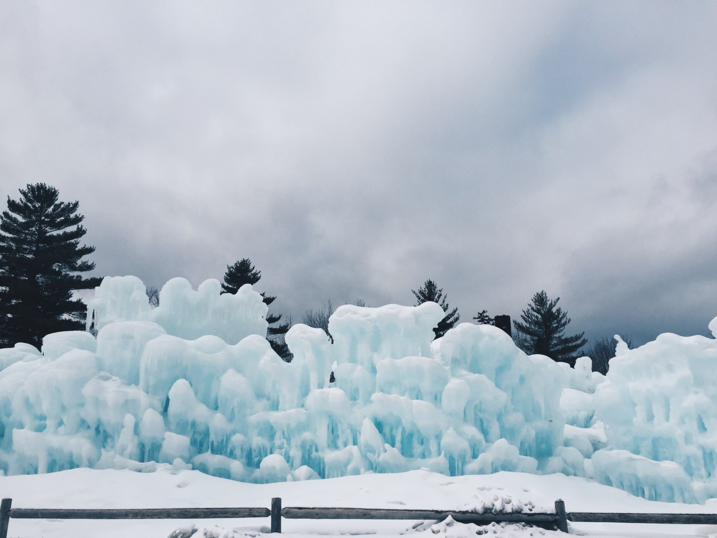 Ice Castles In Lincoln New Hampshire