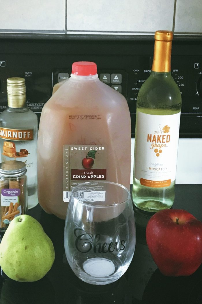 Apple Pie Cider Punch