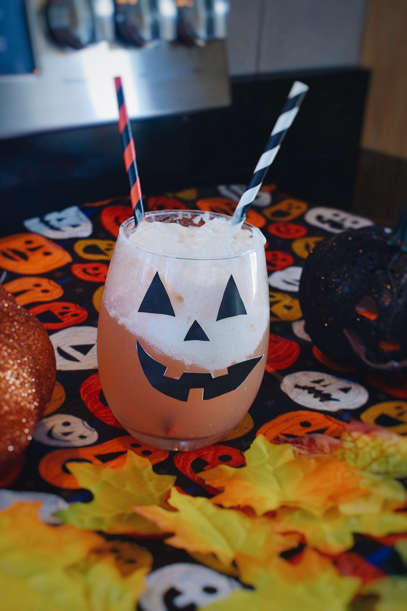 Halloween Ice Float