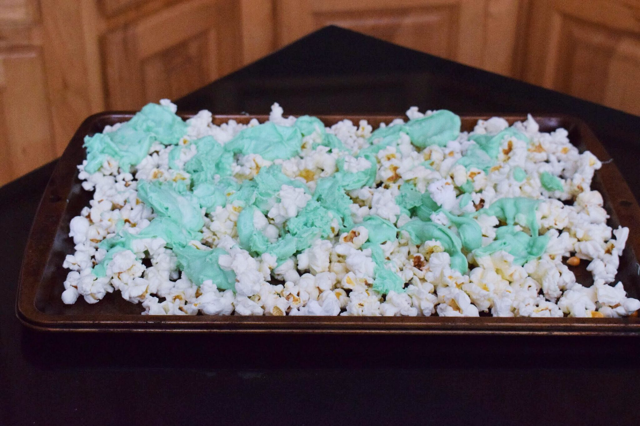 St. Patricks Day Popcorn Kitchen