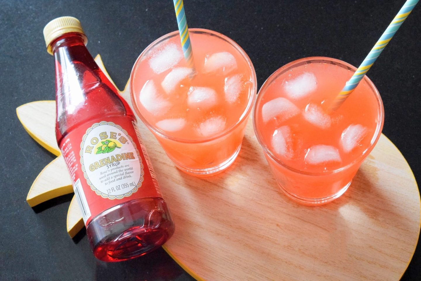Not Your Average Shirley Temple Drink