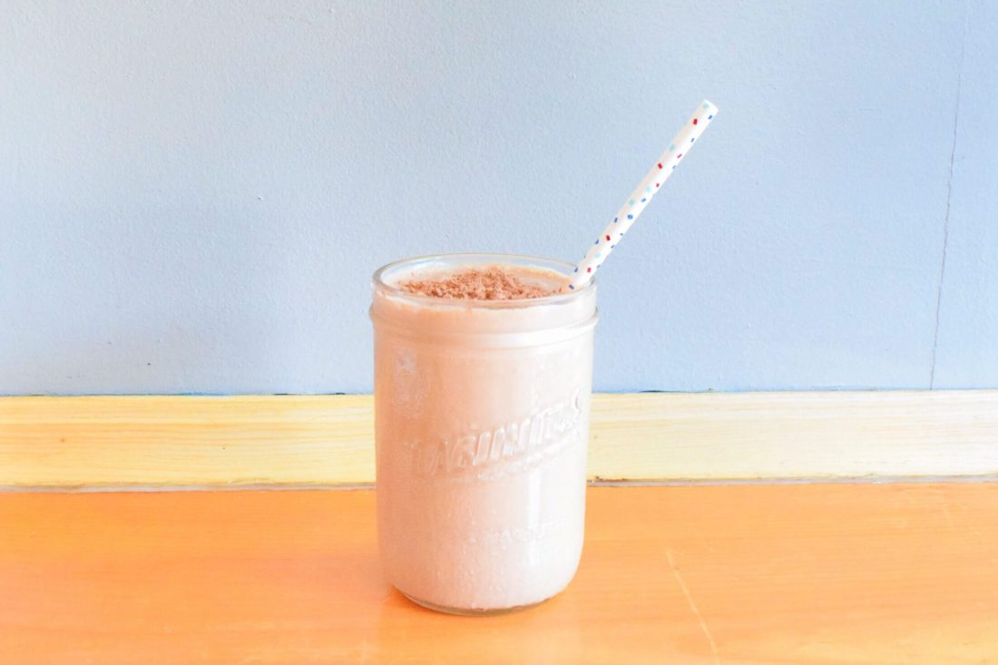Snickers Keto Shake Finished