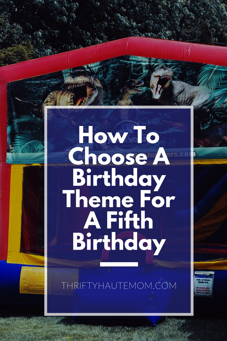 A's Fifth Birthday Theme