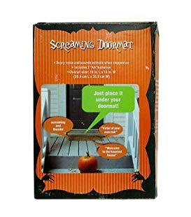Halloween Favorites Screaming Doormat