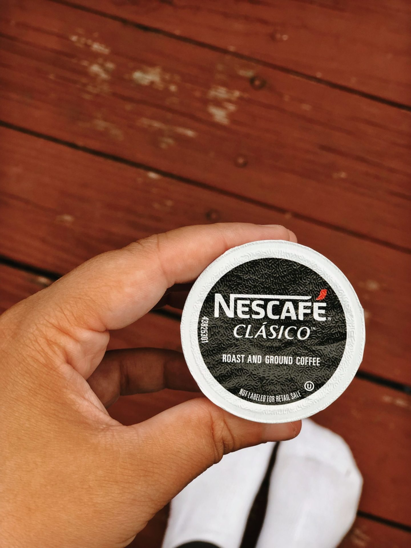 Nescafe Clasico for mornings
