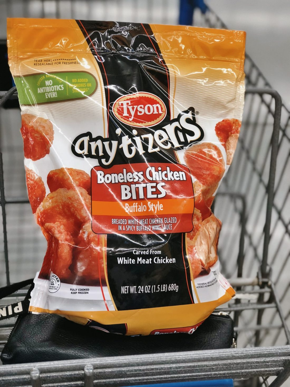 Boneless Buffalo bites at Walmart