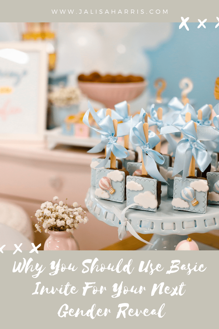 hosting a gender reveal party
