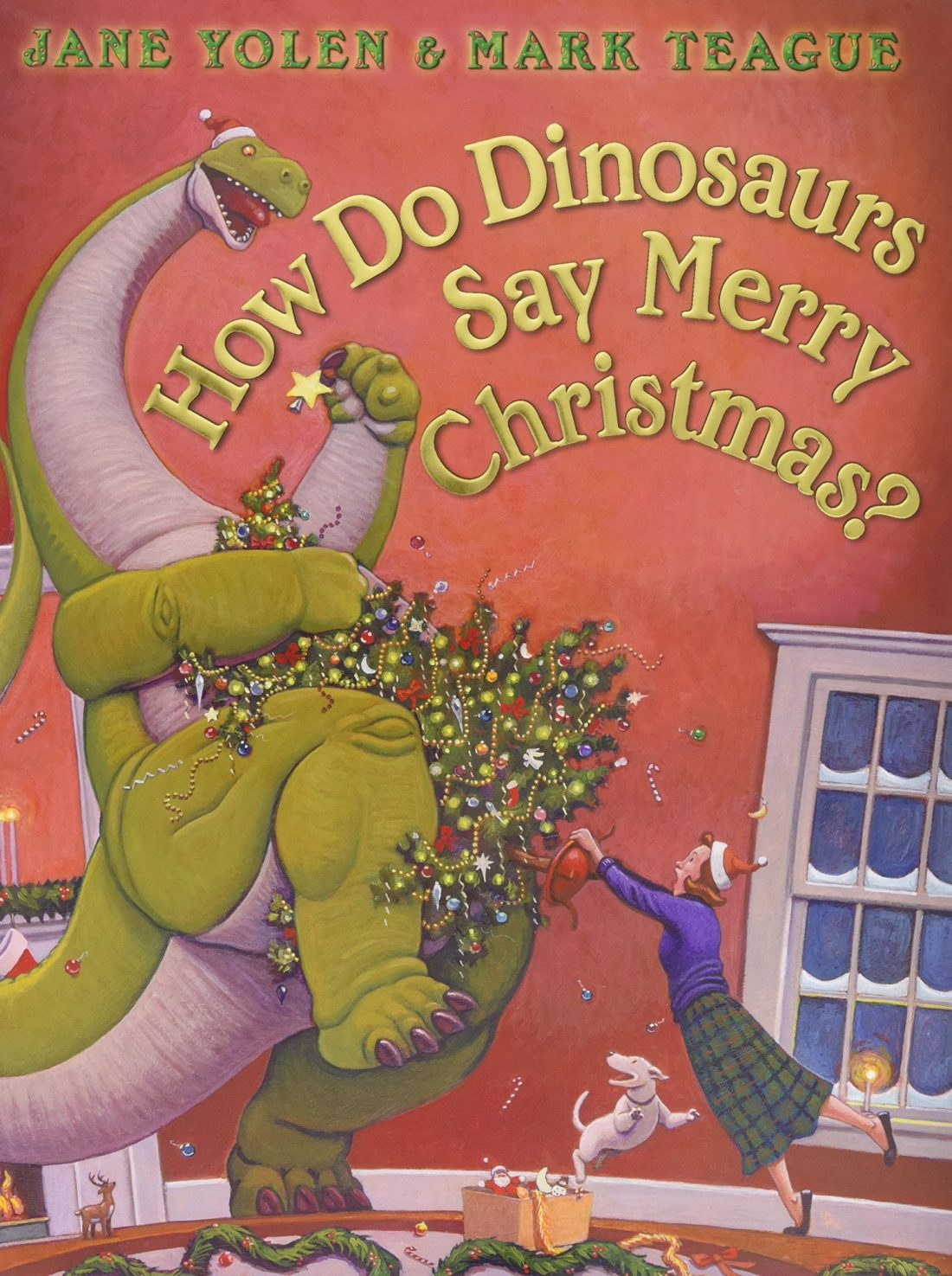 How do dinosaurs say Merry Christmas Learn To Read Book