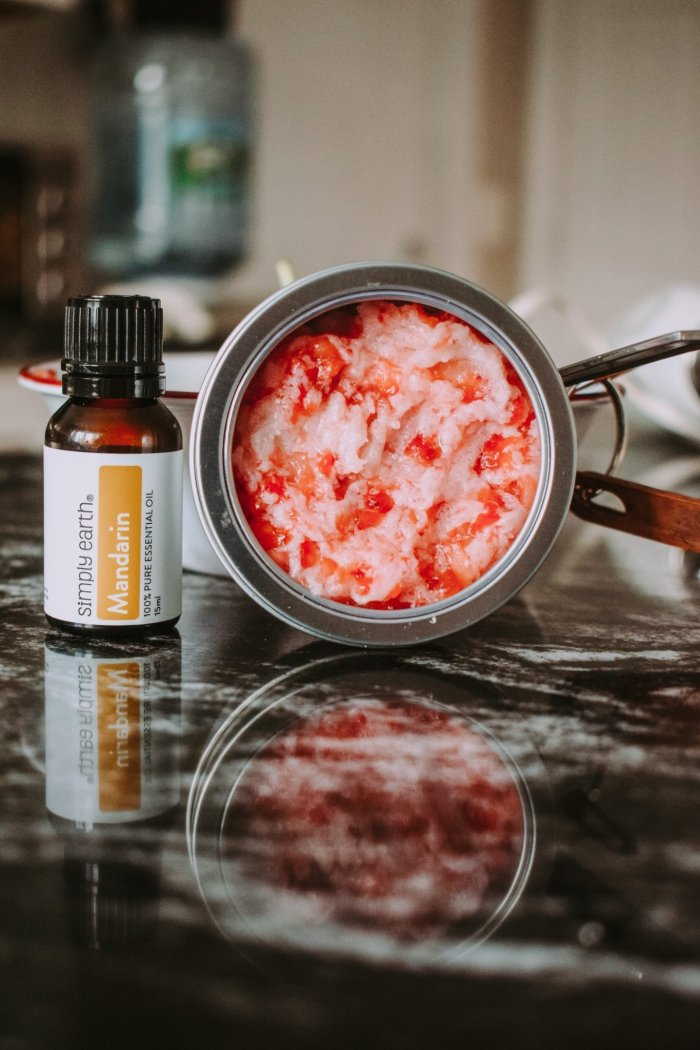Strawberry Lip Sugar Scrub You Can Share With Your Kids