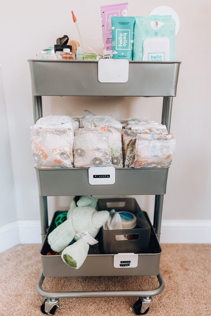 Our baby diaper cart must-haves you need