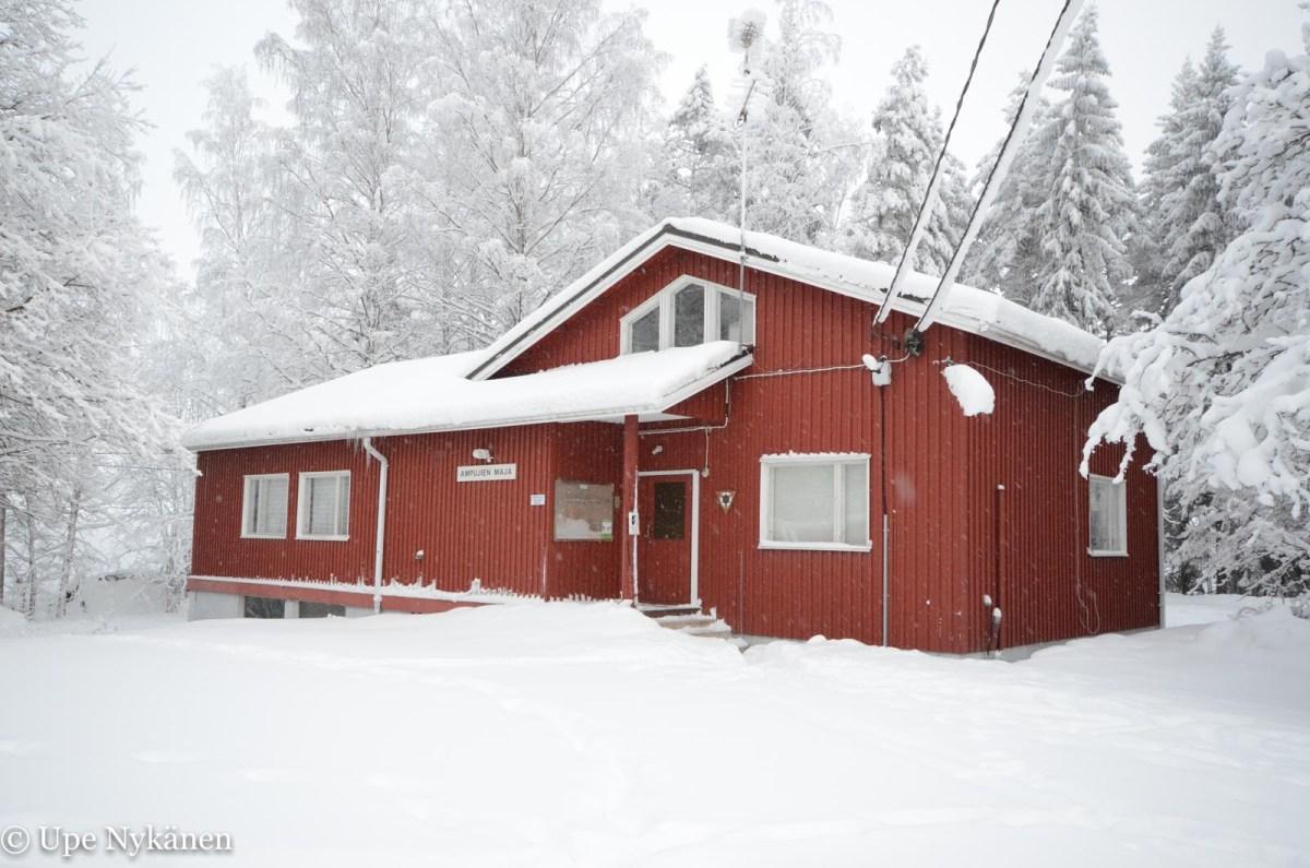 Ampujien maja, Jyväskylä. Kuva: Upe Nykänen