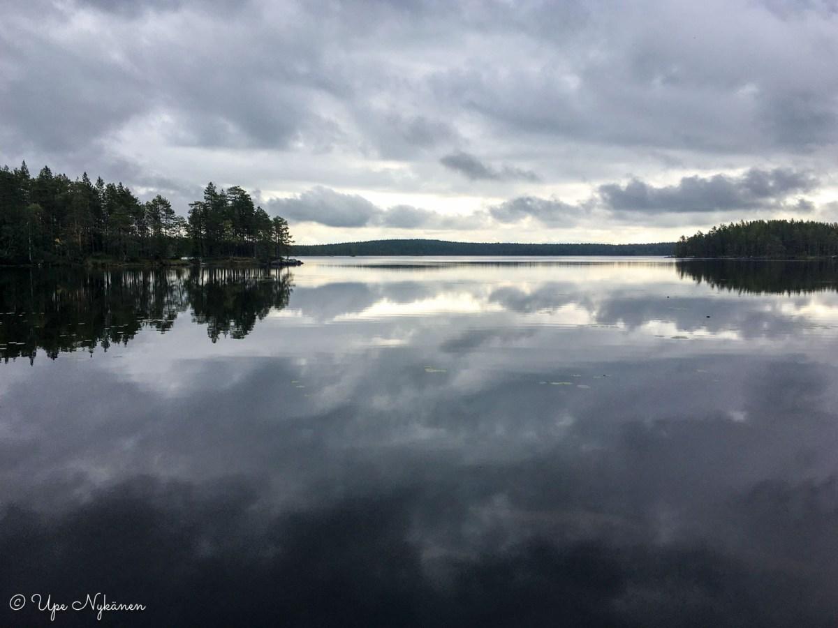 Koirajärvi, Hirvaan kierros