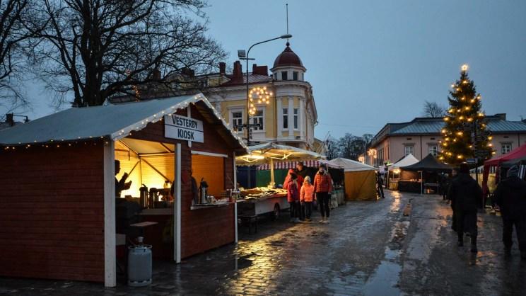 Tammisaaren joulumarkkinat ja tori.