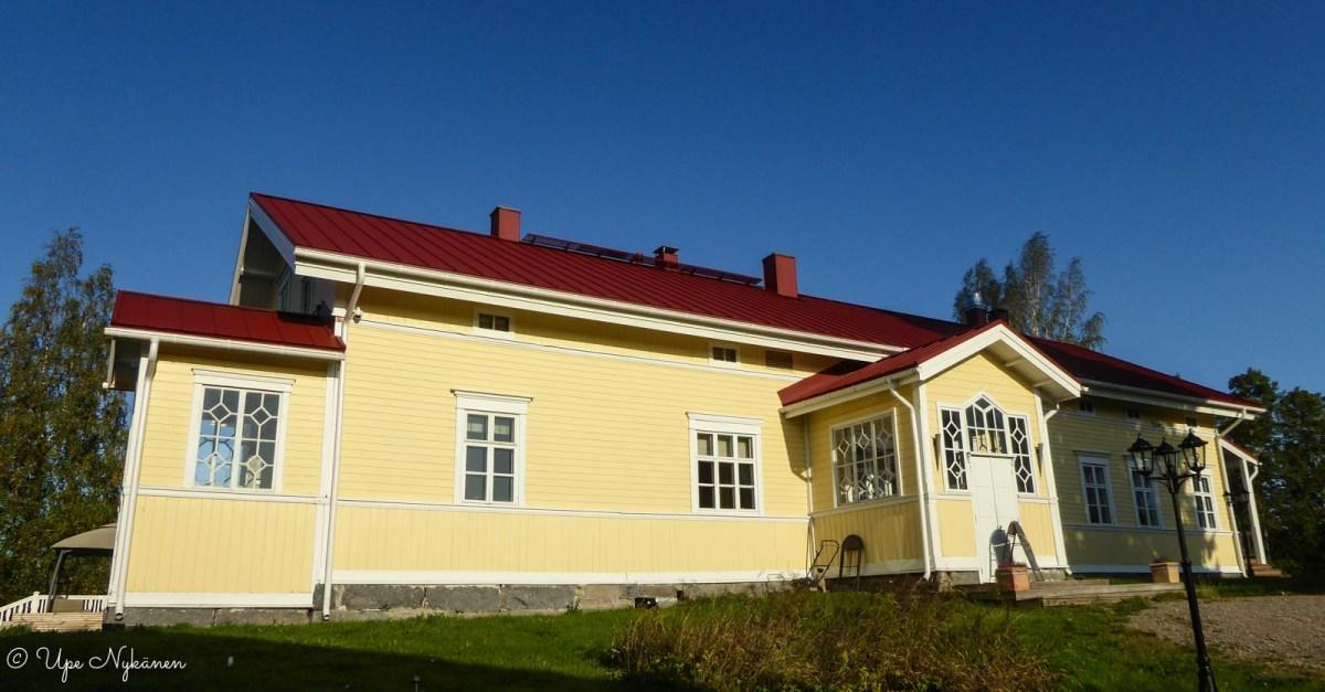 Marjoniemen päärakennus, Uurainen.