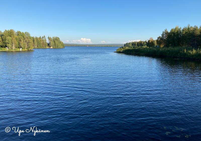 Ternujoki laskee Kemijokeen.