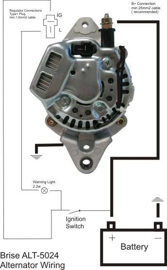 2 Wire Alternator Wiring Diagram : alternator, wiring, diagram, Denso, Alternator?, H.A.M.B.