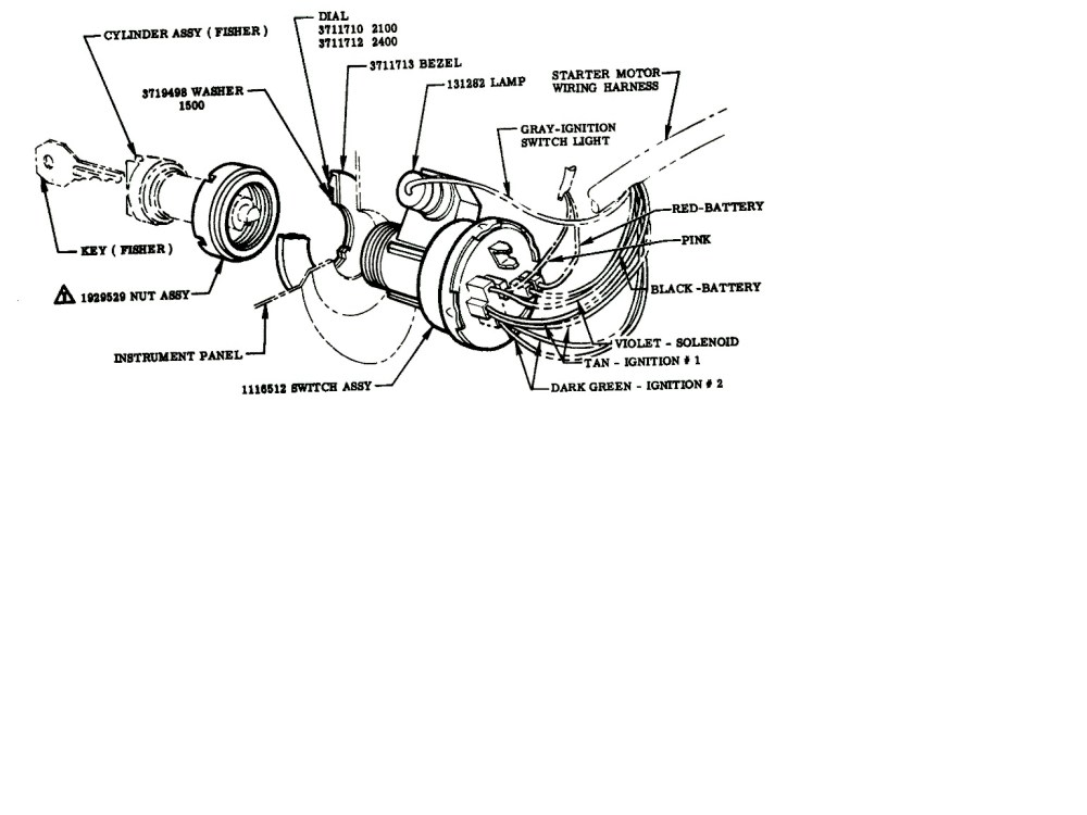 medium resolution of chevy truck ignition switch wiring wiring diagram expert 1979 chevy ignition switch wiring diagram