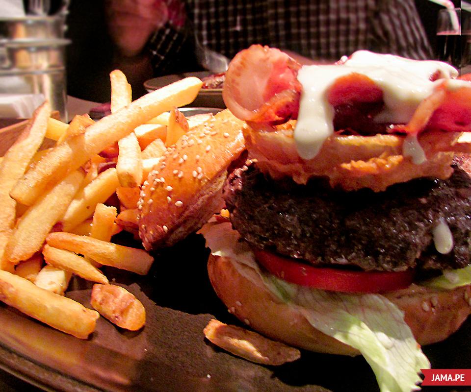 Papachos hamburguesa
