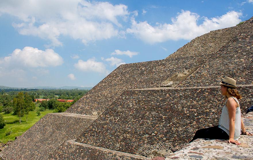 Teotihuacán en un Globo aerostático