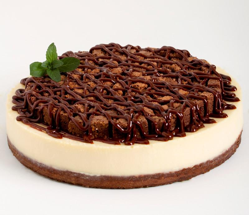 Cheesecake de brownie patty pasteleria jama