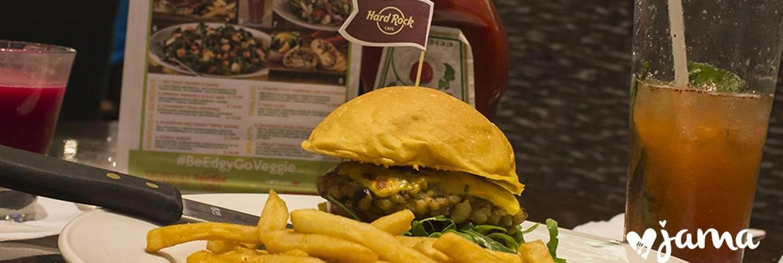 HARD ROCK CAFÉ lanza nuevo menú Vegetariano