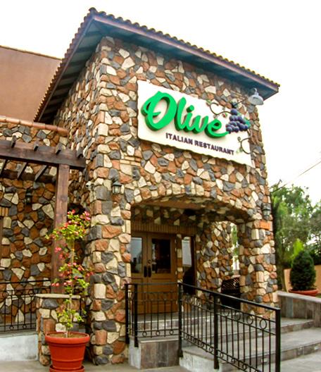 olive fachada - restaurante