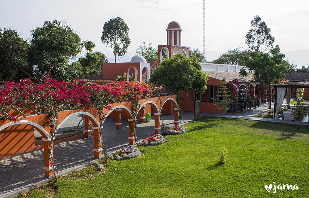 VISITA AL hotel hacienda San Juan