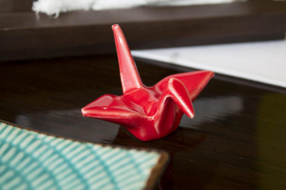 Tsuru significa grulla, que es el ave venerada en Japón