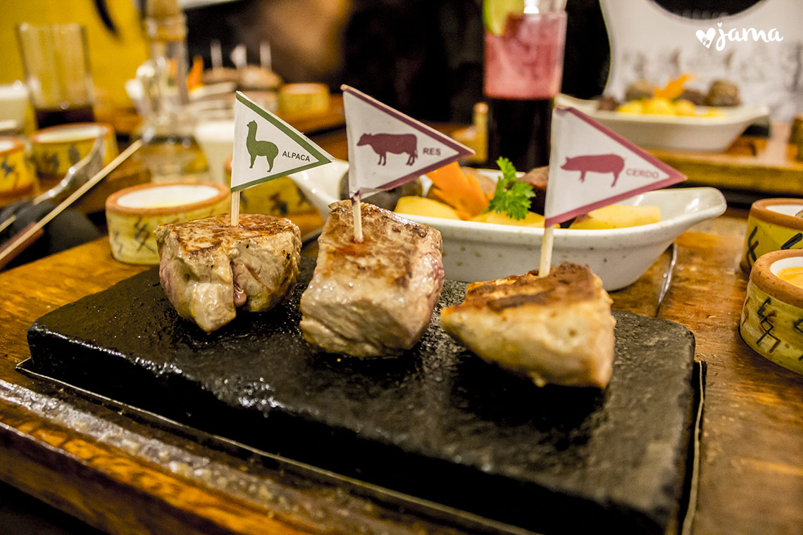Arequipa: Restaurante Zig Zag, gastronomía Alpandina