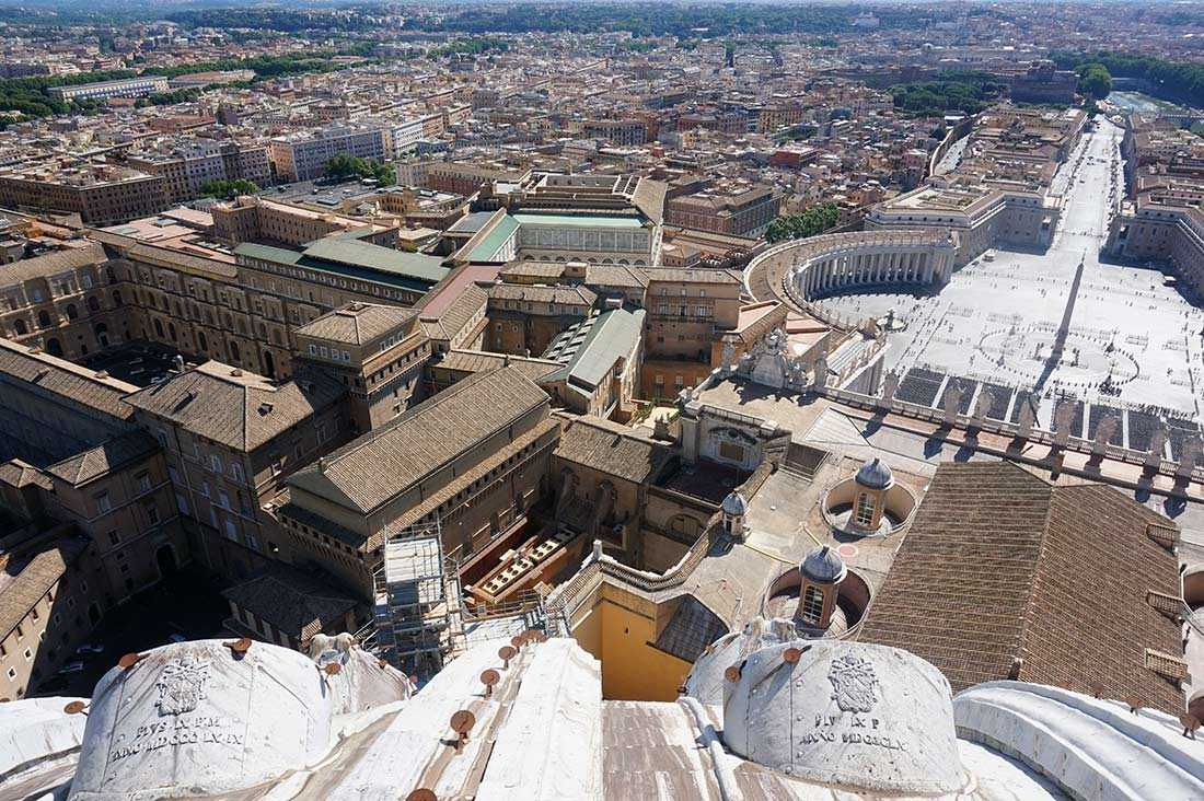 Viajar sola a Roma