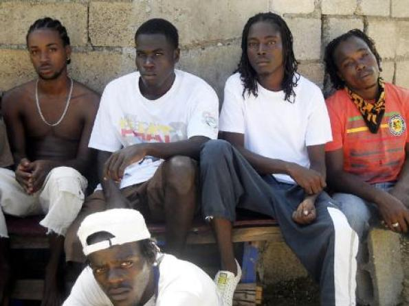 Image result for jamaican young men on the corners