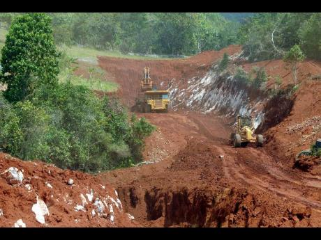 Image result for bauxite disaster in St. Catherines Jamaica