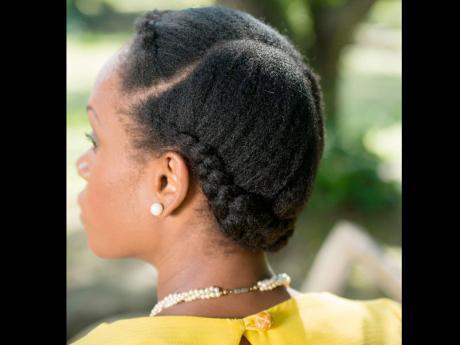 natural hairstyles work flair
