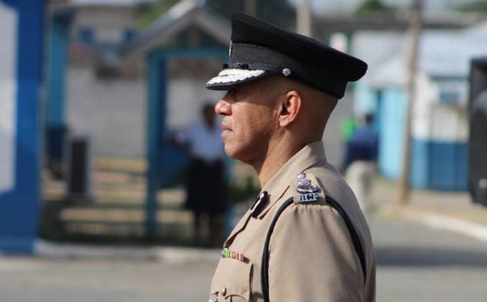 Image result for jamaican police uniform cap