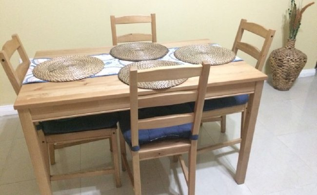 Ikea Jokkmokk Dining Set For Sale In Constant Spring