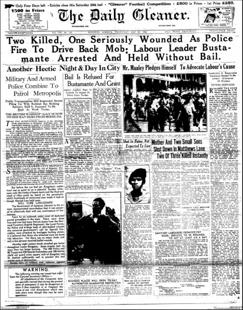 Daily Gleaner_May 25, 1938