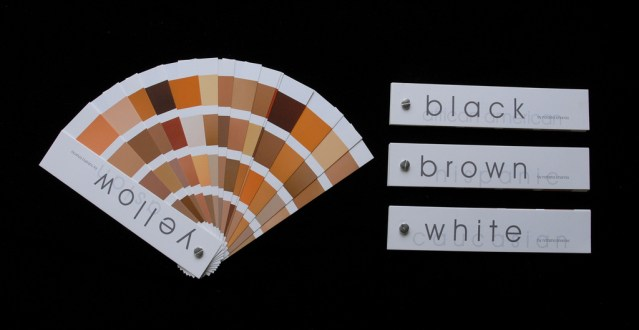 Skin Swatches by nbhamla via Flickr