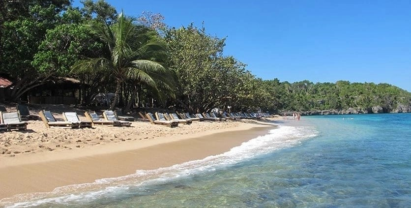 Beach in Ocho Rios Jamaica