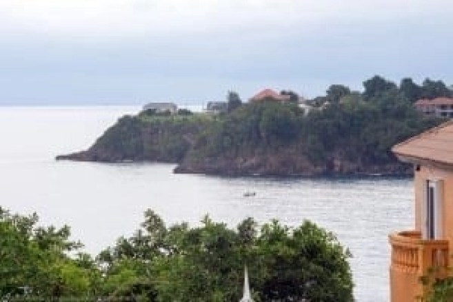 Jamaica villa view
