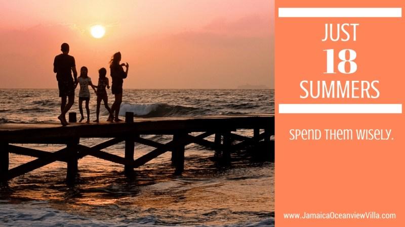 18 summers, 1 in Jamaica
