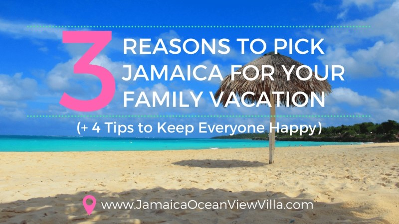 Jamaica for multigenerational travel tips